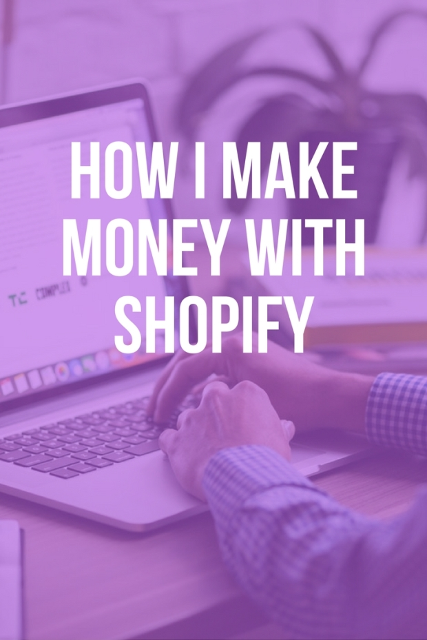 Make money with shopify