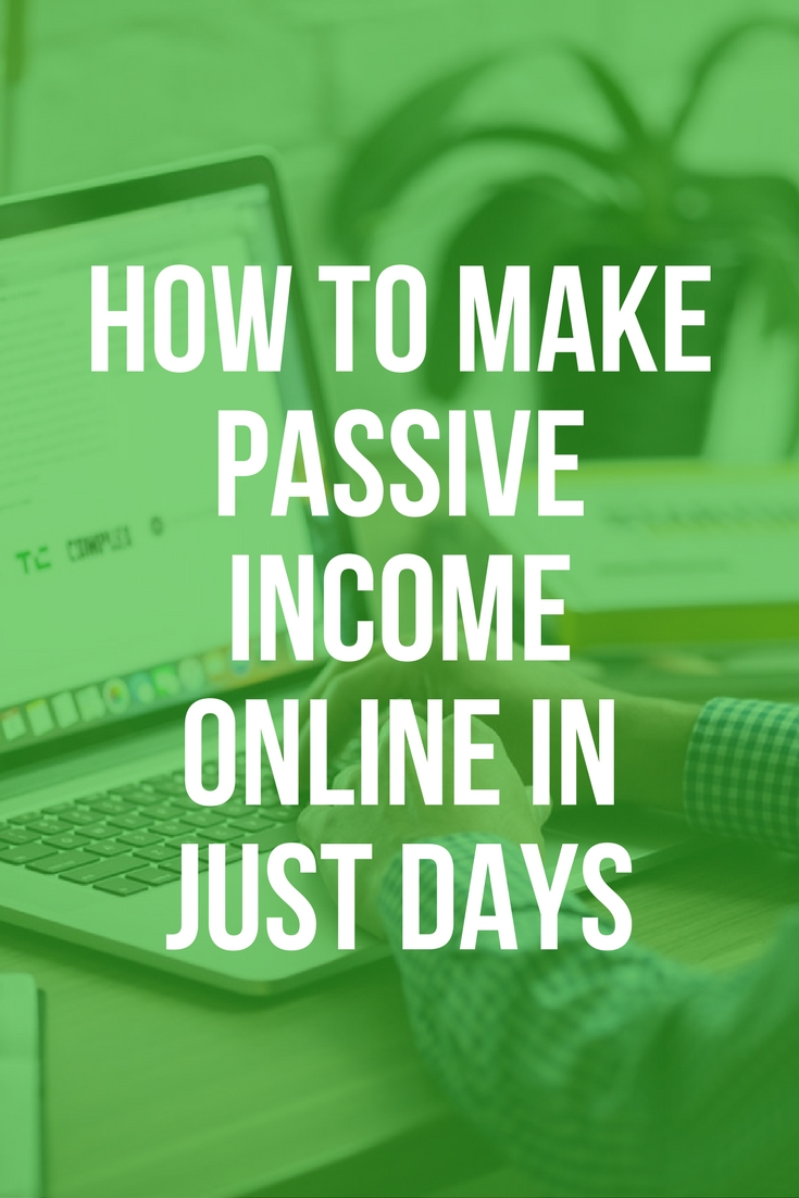 how to make online income