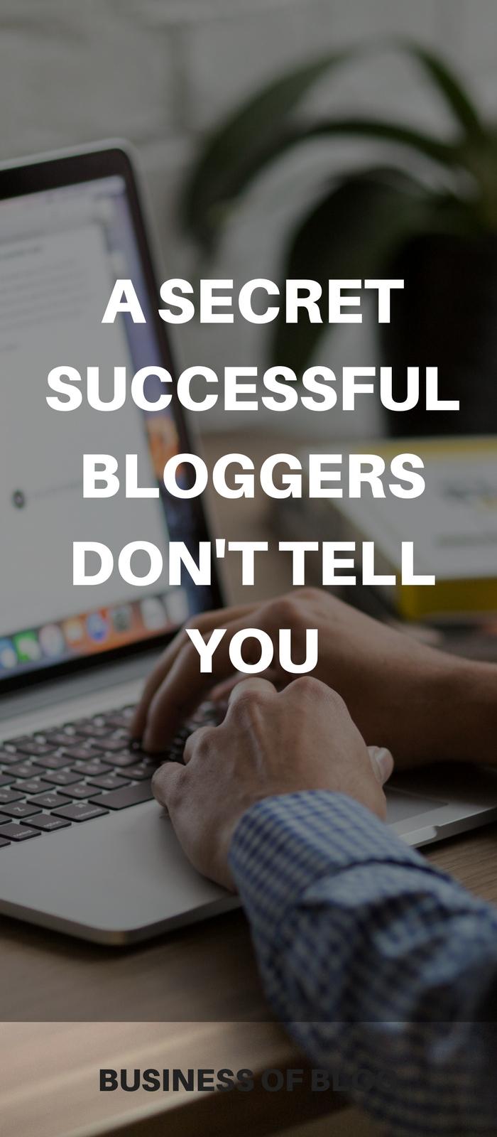 Secret blog